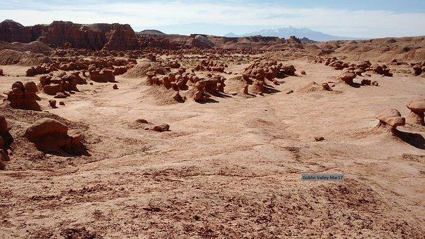 Desert, Mountain, Landscape, Nature, Sand, Outdoor, Sky