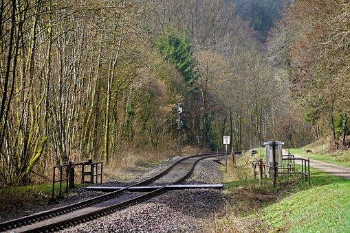 Railway Line, Romantic, South Eifel, Kylltal