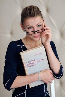 Study, A Chemistry Textbook, The Teacher, Student