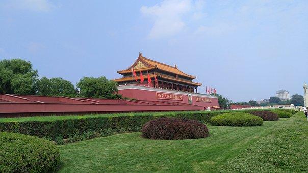 Beijing, Tiananmen Square, Green