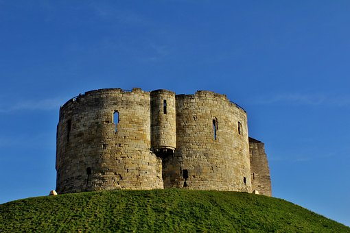 York, Castle, Tower, Tourist