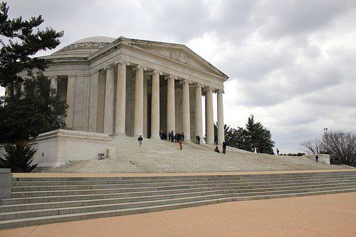 Jefferson, Memorial, Washington Dc, Landmark, Usa