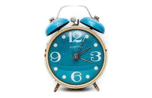 Alarm, Clock, Time, Hour, Minute, White, Watch, Retro