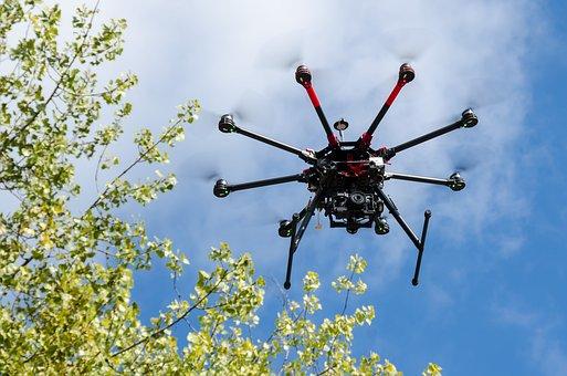 Drone, Hexacopter, Uav, Rpas, Aircraft, Dji