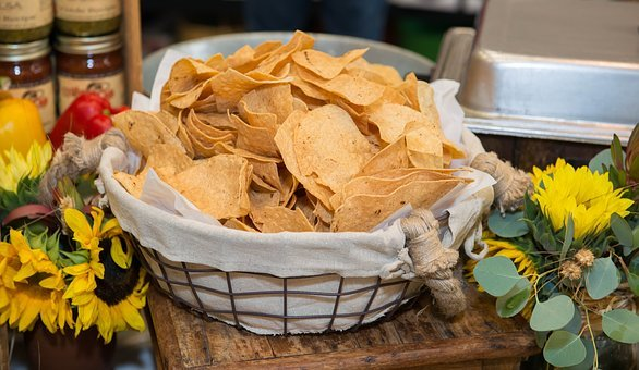 Chips, Tortilla, Snack, Food, Mexican, Corn, Appetizer