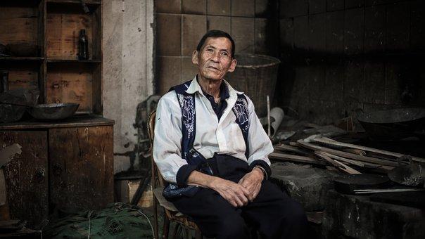 The Old Man, Artisan, Vicissitudes, People, A, Portrait