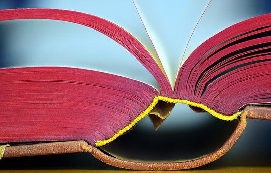 Book, Old, Old Book, Pitched, Open Book, Read