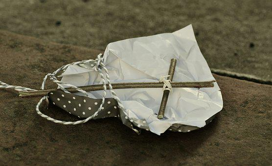 Cross, Symbol, Gift, Thrown Away, Careless, Rejection