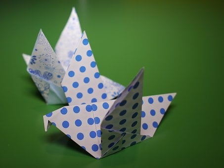 Origami, Fold, Tinker, Water, Paper, Folded, Colorful