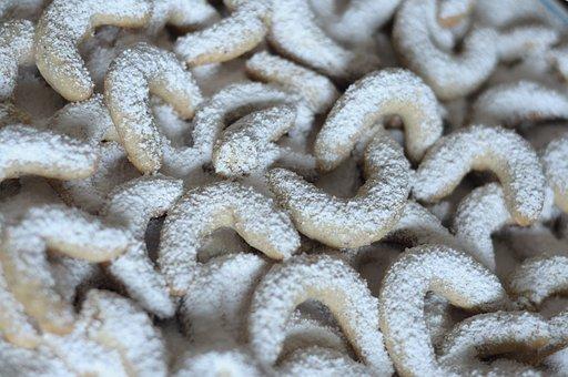 Vanillekipferl, Pastries, Cookie, Cookies