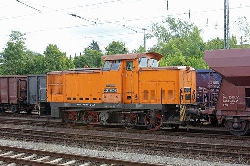 Diesel Locomotive, Deutsche Bahn, Railway, Br 346, Db