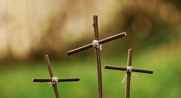Passion, Three Crosses, Cross, Good Friday, Easter