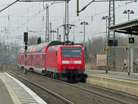 Db, Deutsche Bahn, Railway, Br146, Electric Locomotive