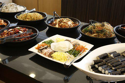 Buffet, Food, Delicious