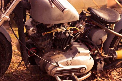 Motorcycle, Bikes, Handlebar, Circle, Old-fashioned