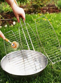 Make Clean, Clean, Scrub, Grill, Grid