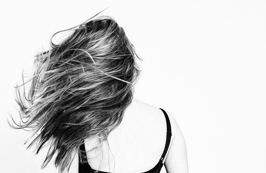 Girl, Hair, Mind, Move, Long Hair, Back View, Woman