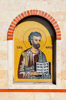 Saint Mark, Mosaic, Iconography, Church, Religion