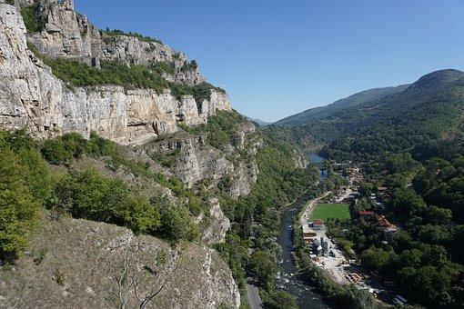 Lakatnik, Rocks, Iskar, River, Mountain, Landscape