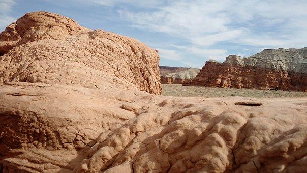 Desert, Mountain, Goblin, Landscape, Nature, Travel