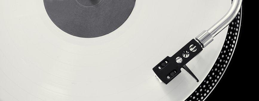 Turntable, S-record-players, Hub, Needle