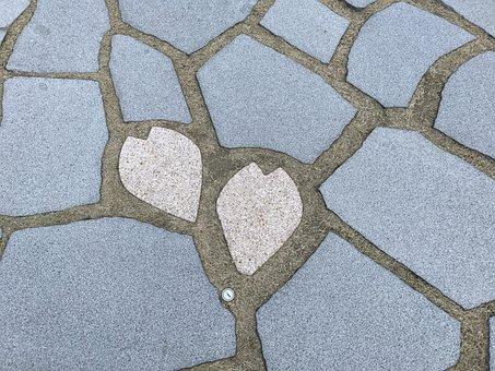 Kioicho Garden, Cherry, Pavement