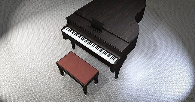 Piano, Wing, Music, Instrument, Piano Keys