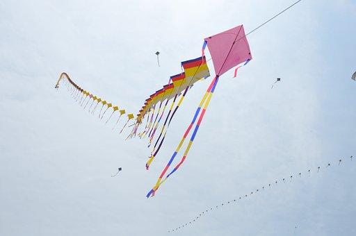 Kite, Republic Of Korea, New Year's Day, Feast, Prayer
