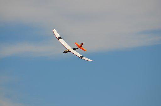 Glider, Rc Glider, Radio Controlled Plane, Flying