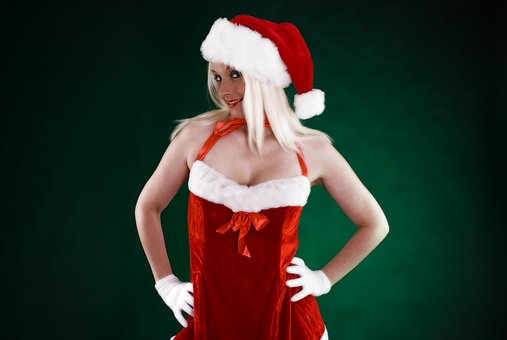 Christmas, Santa Claus, Christmas Woman, Female, Woman