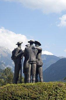 Sculpture, Alpine, Alps, Mountain, Bohinj, Slovenia