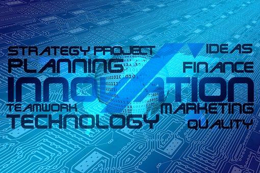 Innovation, Board, Trace, Network, Technology, Teamwork