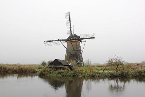 Amsterdam, Child Dykes, Windmill