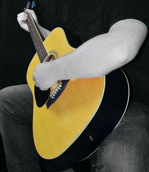 Guitar, Acoustic, Acoustic Guitar, Music, Instrument
