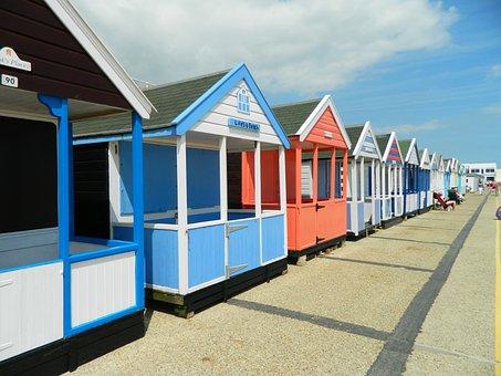 Beach Hut, Southwold, Suffolk, Beach, Bathing, England