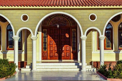 Cyprus, Paralimni, Bishopric Of Konstantia, Building