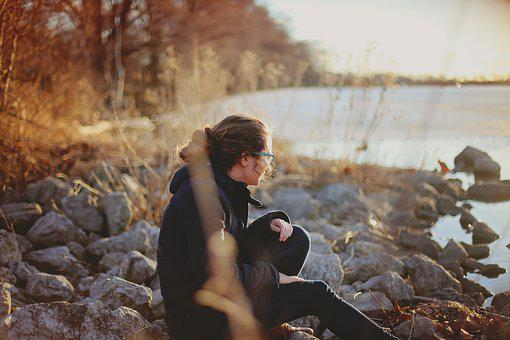 Adult, Alone, Autumn, Blur, Close-up, Fall, Focus, Girl