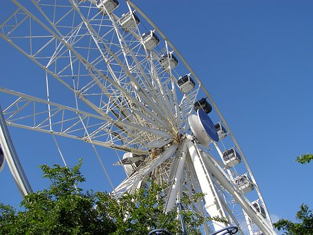Ferris Wheel, Cape Town, V-a Waterfront