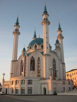 Kul-sharif Mosque, Mosque, Church, Kazan, Russia