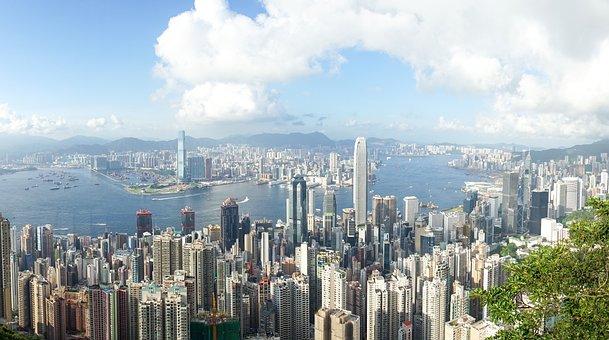 Hong Kong, The Peak, Cityscape, Hong Kong Skyline