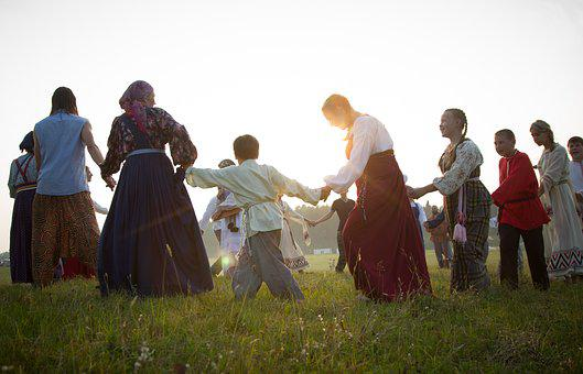 Roundelay, Dancing, Rites, Ethnicity, Costumes, Outfits