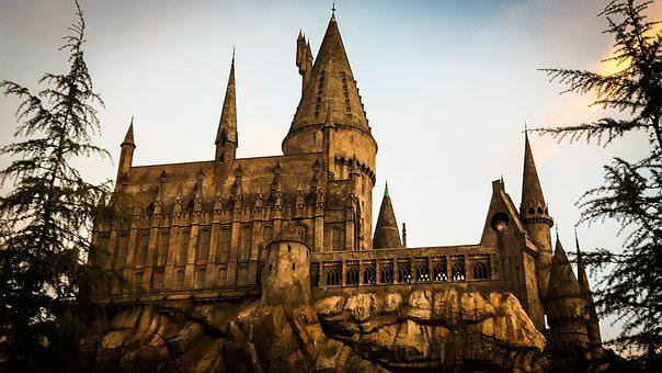 Hogwarts, Harry Potter, Magic, Conjure, Magic School