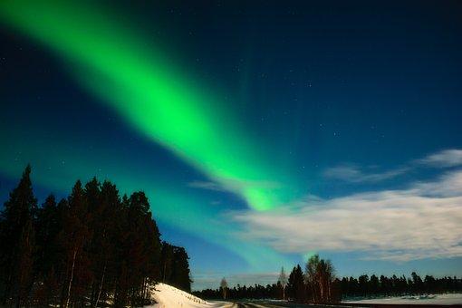 Aurora, Aurora Borealis, Finnish Lapland, Inari
