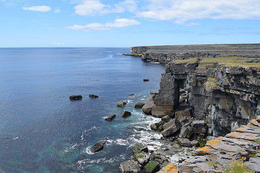 Insimore, Aran Islands, Cliffs, Ireland