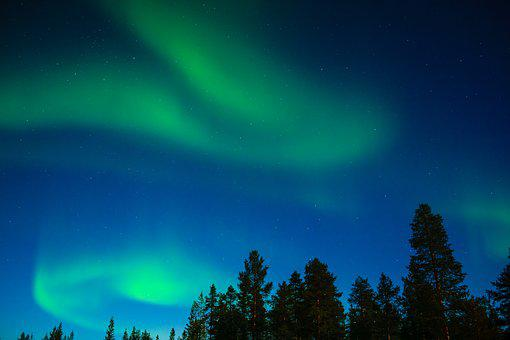 Northern Lights, Aurora Borealis, Lapland, Aurora