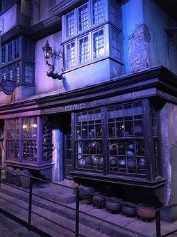 Harry Potter, Diagon Alley, Film Studios, London