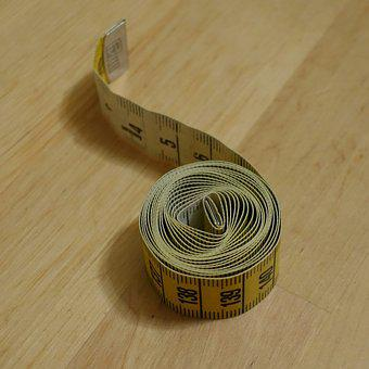 Tape Measure, Rolled Up, Pattern, Mandala, Geometry