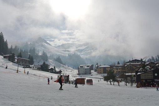 Stoos, Switzerland, Skiing, Schwyz, Mountain, Snow