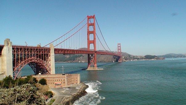 Golden Gate, Suspension Bridge, San Francisco, Bridge