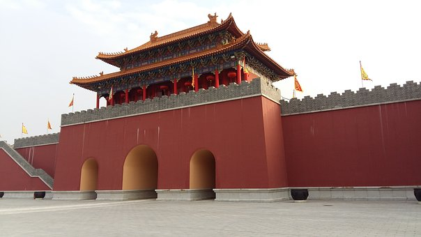Tiananmen Square, City Gate Tower, Studio City